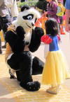 Panda and Snow White