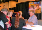 Shatner busy meeting his fans