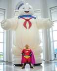The Stay Puft Marshmallow Man is Bull-Itt's backup!