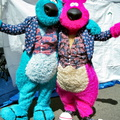 Blue Beary and Razz Beary""
