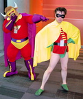 Bull-Itt thinks Robin came a little under-dressed!