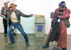 Wolverine vs. Starlord!
