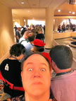 FWA2015's LONG registration line!