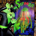 Tech-E shows off the Scrooze Toys sign
