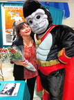 "Cindy Williams from ""Laverne & Shirley"" gets 18 red roses from Ultra-Gor, to show how much she means to him!"