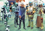 A young Jedi has converted some Mandelorian bounty hunters away from the Dark Side!