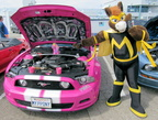 My Little Pony has invaded the car shows!