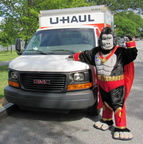 This U-Haul made visiting the National Mall so easy!