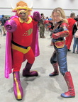 Bull-Itt & Captain Marvel!